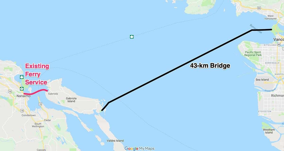 BREAKING: NDP Approves Vehicle Bridge to Mainland
