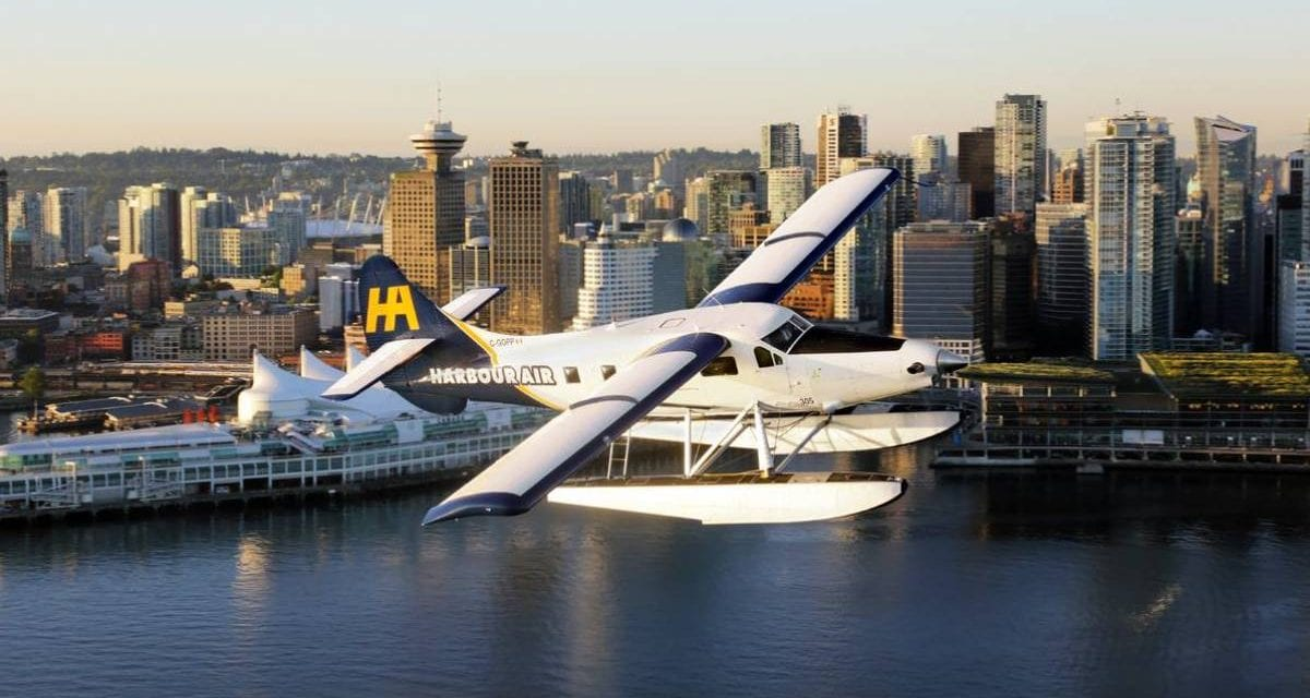 Harbour Air to run 48km of extension cords across water for new planes