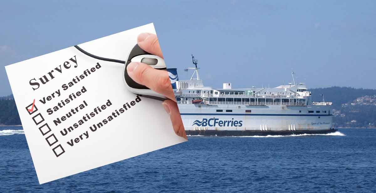 """BC Ferries """"new services"""" survey concerns local residents"""