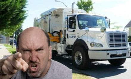 """Nanaimo man admits late garbage pickup """"probably"""" not worst thing in the world"""