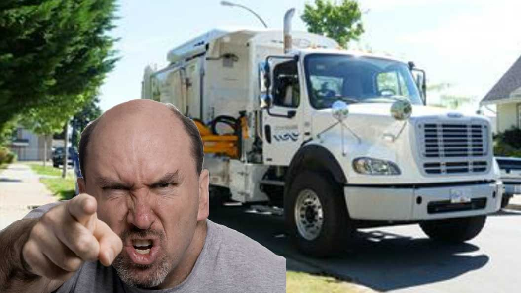 "Nanaimo man admits late garbage pickup ""probably"" not worst thing in the world"
