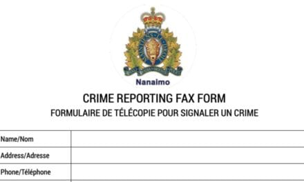 "Nanaimo RCMP piloting ""state-of-the-art"" Online Crime Reporting Fax Form"