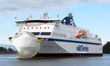 Route Cancelled Until Ferry-Sized N95 Masks Can Be Sourced
