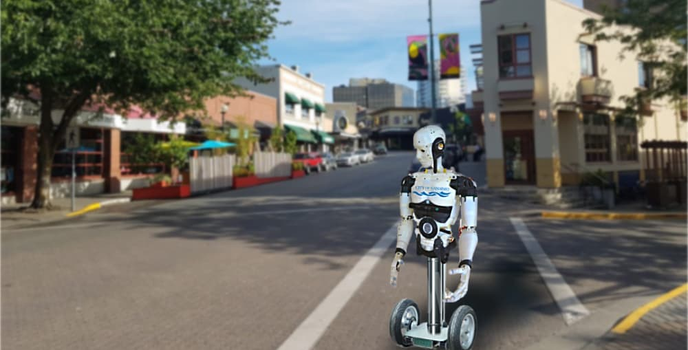 """""""Injuries Possible"""" with Nanaimo's New Social Distancing Robot"""
